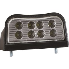 LED license plate light | 12-36V | incl. connector 0.75mm2