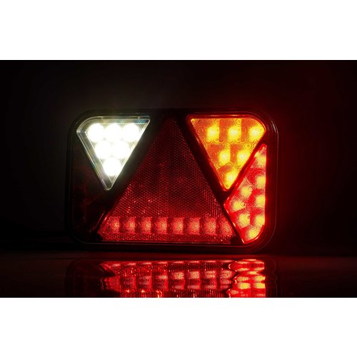 LED achterlicht links met geïntegreerde canbus-oplossing & achteruitrijlicht 12v 5PIN