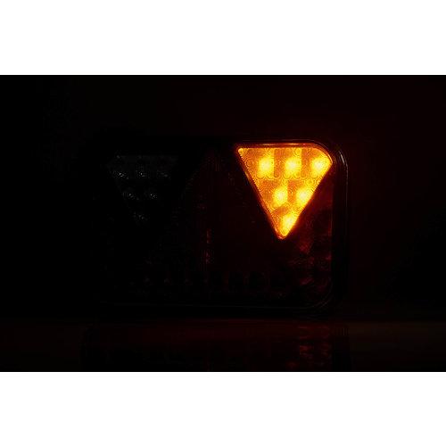 Fristom LED achterlicht rechts met geïntegreerde canbus-oplossing & achteruitrij- & kentekenverlichting 12v 5PIN