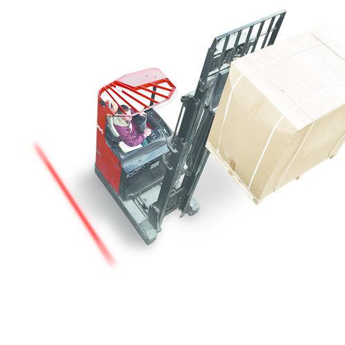 LED RED Line forklift safety lamp 10-80v