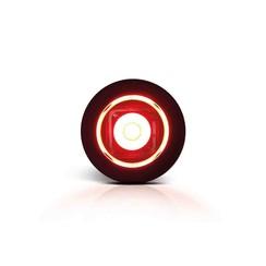 LED Compact inbouw markeerlicht rood 12/24v