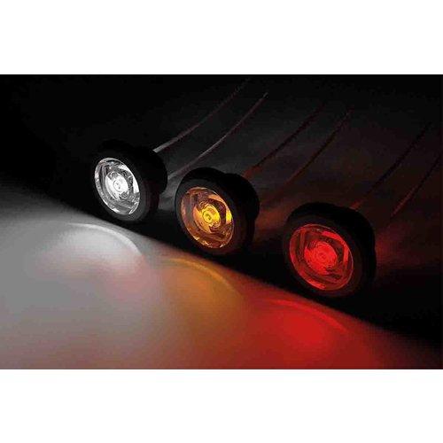 Fristom LED Compact inbouw markeerlicht wit 12/24v