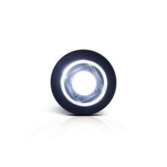 LED Compact inbouw markeerlicht wit 12/24v