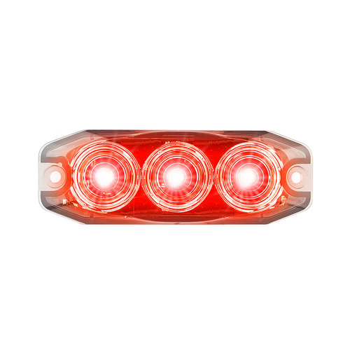 LED Autolamps Compact LED flashing 12 / 24v (clear lens)