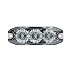 LED Compact achteruitrijlicht 12/24v (heldere lens)