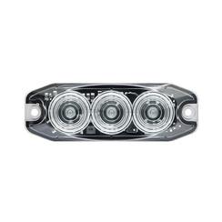 LED Compact knipperlicht 12/24v (heldere lens)
