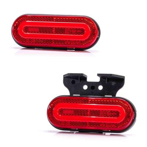 LED NEON markeerlicht rood | 12-24v | 50cm kabel