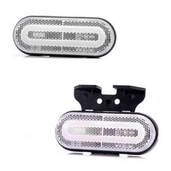 LED NEON markeerlicht wit | 12-24v | 50cm kabel