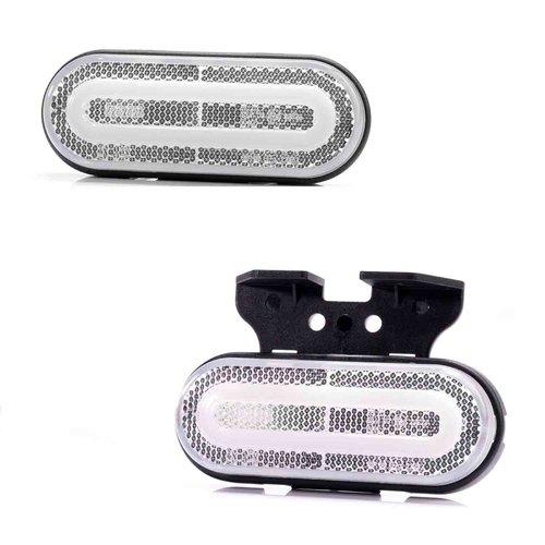 Fristom LED NEON markeerlicht wit   12-24v   50cm kabel