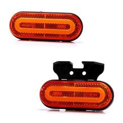 NEON LED Markierungsleuchte rot | 12-24V | 50 cm Kabel