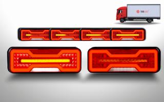 LED rear lights truck