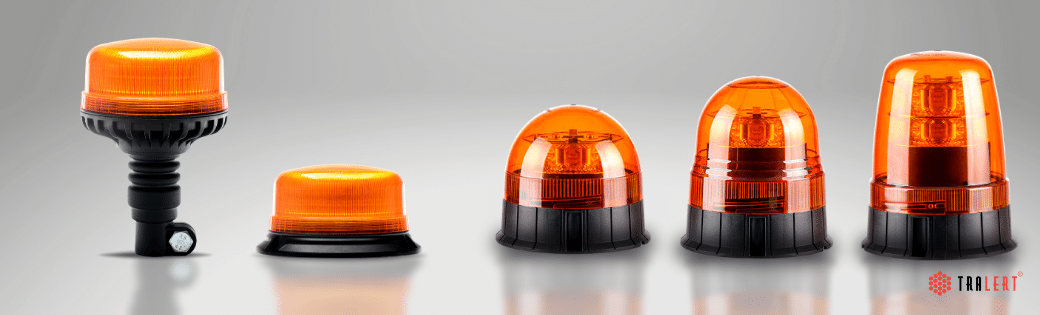 LED zwaailamp