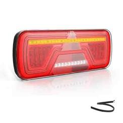 Rechts | LED Neon achterlicht | dynamisch knipperlicht | 12-24v | 200cm. kabel