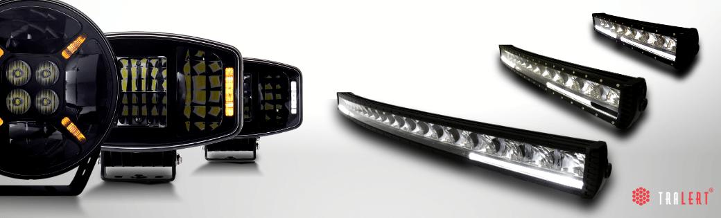 LED light balk auto met dagrijverlichting