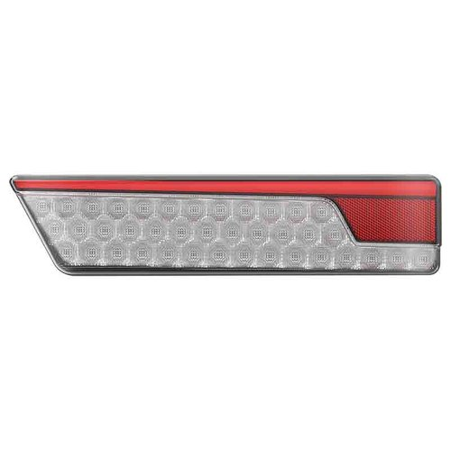LED Neon achterlicht links met dyn. knipperlicht 12/24v