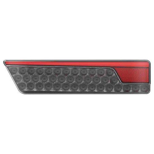 LED Neon Black achterlicht links met dyn. knipperlicht 12/24v