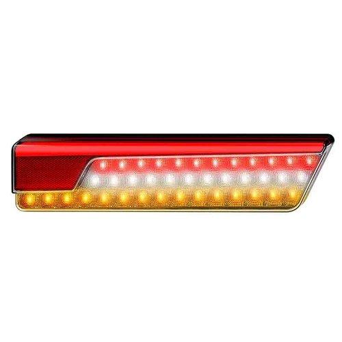 LED Neon Black achterlicht twinpack met dyn. knipperlicht 12/24v