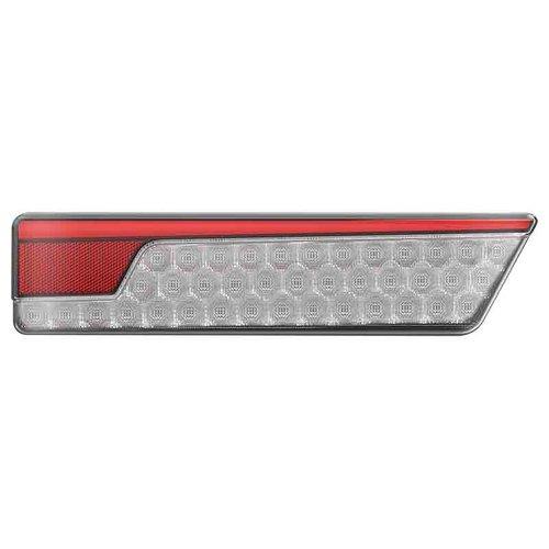 LED Neon achterlicht twinpack met dyn. knipperlicht 12/24v
