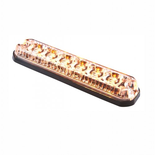 ElectraQuip  LED R65 heavy duty flitser 6-LED Amber 12/24v