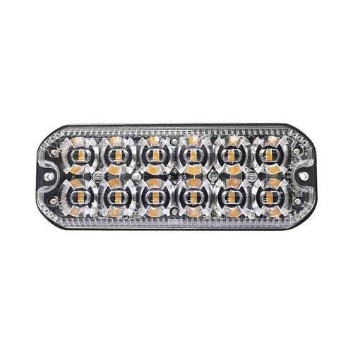 ElectraQuip  LED R65 heavy duty flitser 12-LED Amber 12/24v