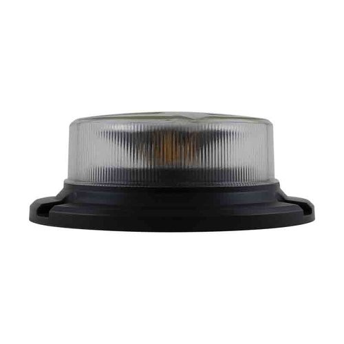 ElectraQuip  LED R65 low base zwaailamp amber/transp. 3-bouts 12/24v