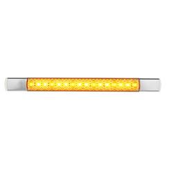 LED slimline knipperlicht 12v chroom