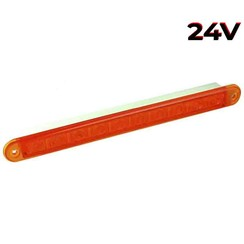LED flashing slimline 24v 40cm. cable