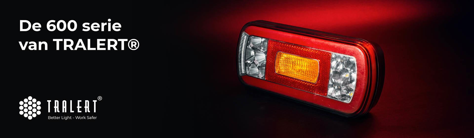 Tralert LED achterlichten 600 serie banner