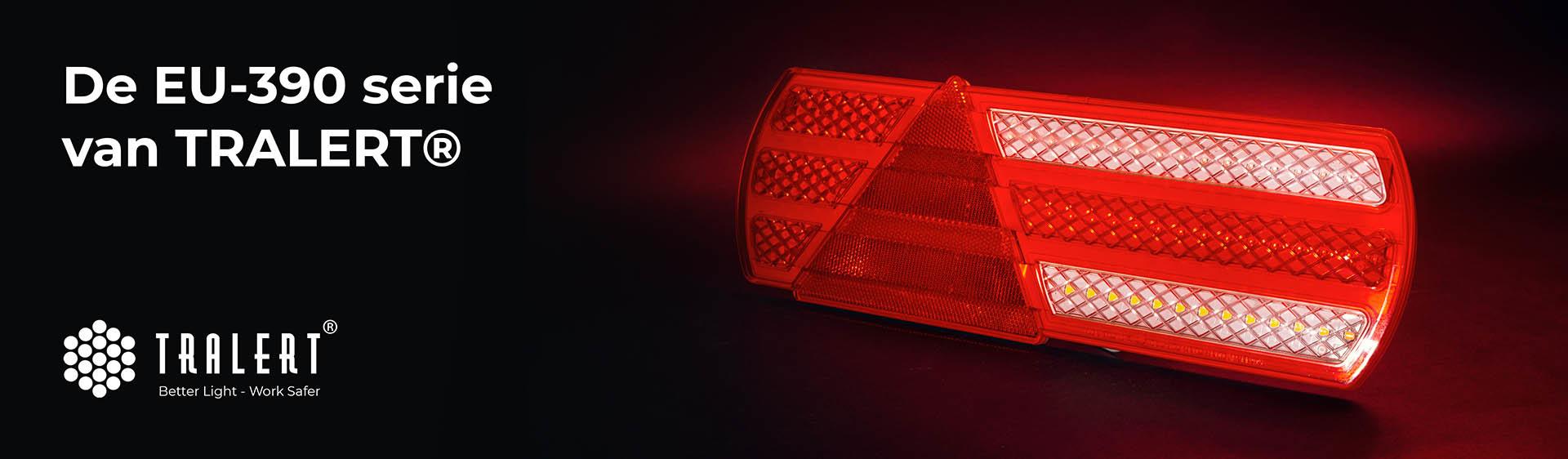 Tralert EU390-serie LED achterlicht banner