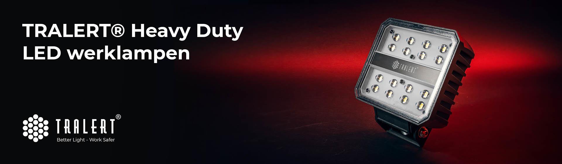 Tralert Heavy Duty LED werklampen banner