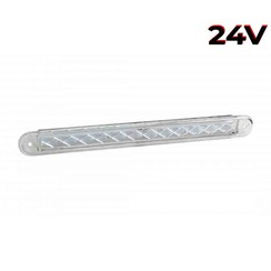 LED flashing slimline 12v 40cm. cable