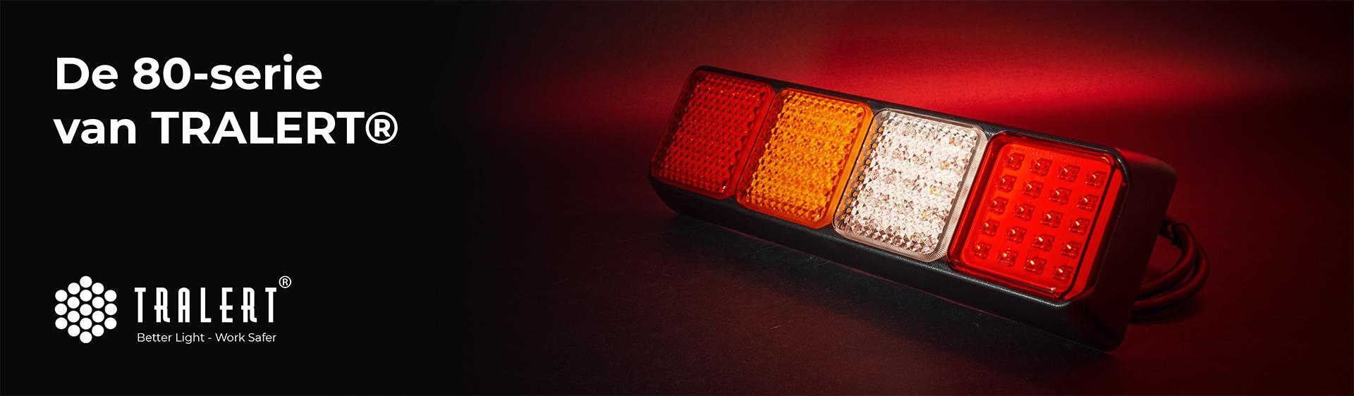 Tralert 80 serie LED achterlicht