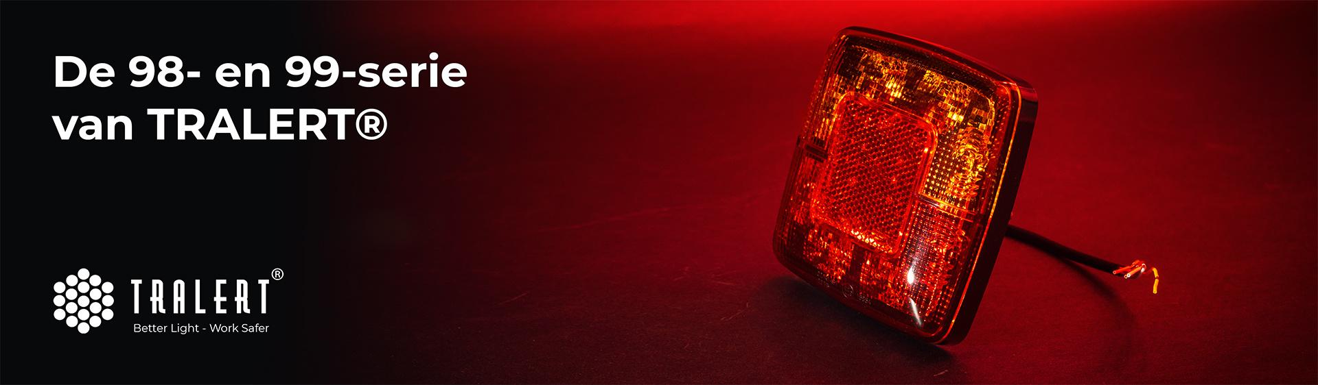 Tralert 98- en 99-serie LED achterlichten
