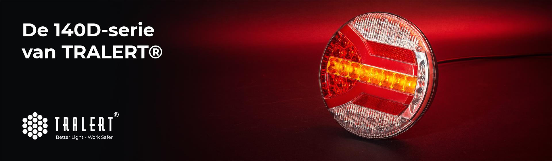 Tralert 140D-serie LED achterlichten