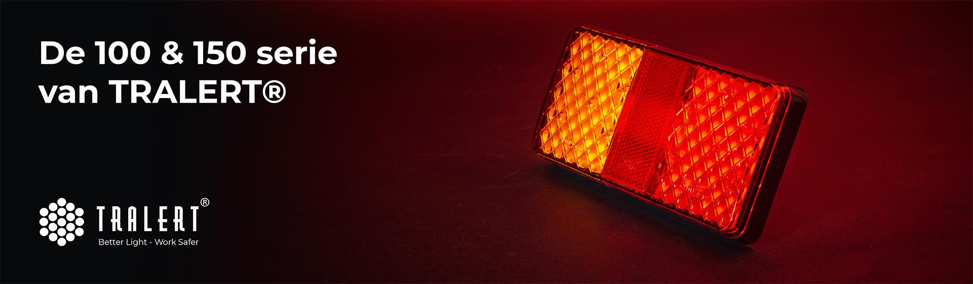 Tralert 100 en 150 serie LED achterlichten