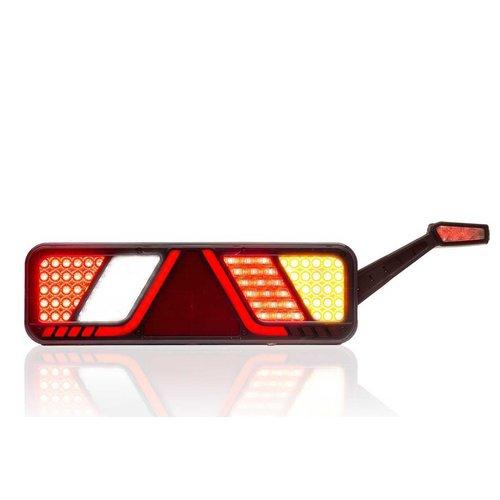 LED Trailerlamp rechts 24v Full LED Canbusproof 2,5m. kabel