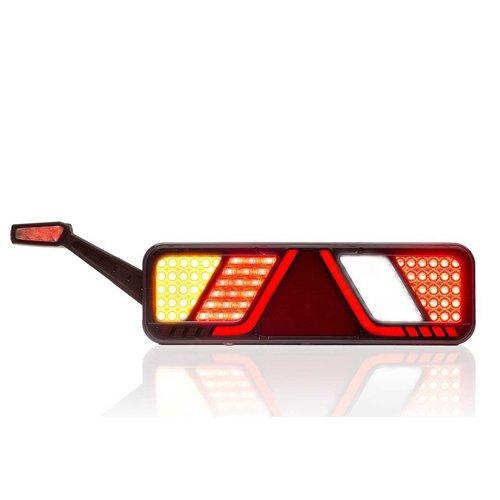 Fristom LED Trailerlamp links 24v Full LED Canbusproof 2,5m. kabel