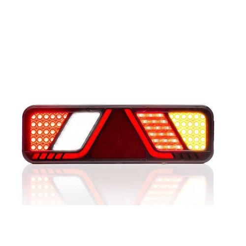 Fristom LED Trailerlamp rechts 24v Full LED Canbusproof 2,5m. kabel
