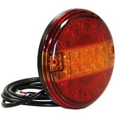 LED Slimline hamburger lamp 12-24v 150cm kabel