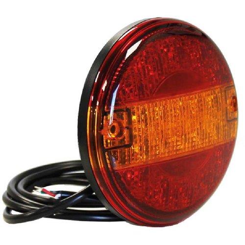 TRALERT® LED Slimline hamburger lamp 12-24v 150cm kabel