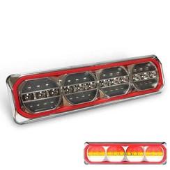LED Neon achterlicht rechts met dyn. knipperlicht 12/24v