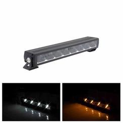 LED Lightbar slimline met Amber of Witte dagrijverlichting 6.400lm
