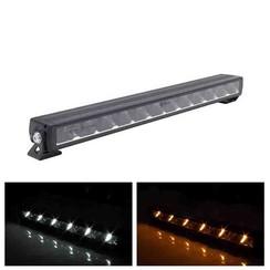 LED Lightbar slimline met Amber of Witte dagrijverlichting 9600lm