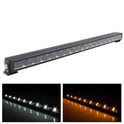 LED Lightbar slimline met Amber of Witte dagrijverlichting 14.400lm