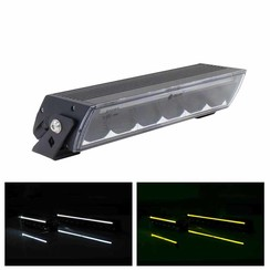 LED Lightbar The Shadow 1 with Duo-colour daytime running lights 5.700 lumen
