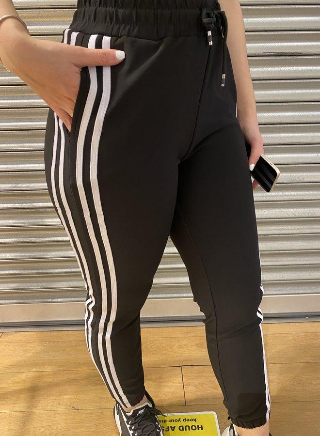 Joggings broek - zwart