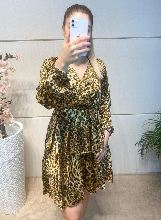 Naomi Leopard dress