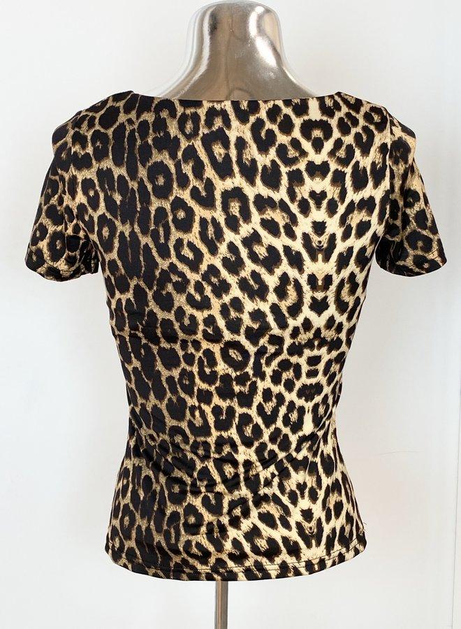 Belle Top Leopard