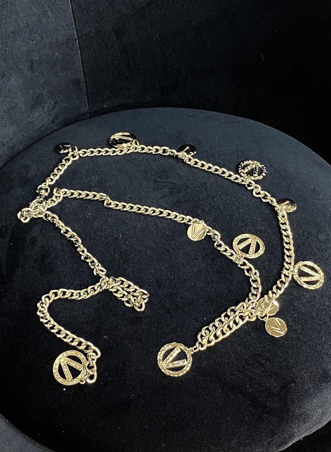 Chain Belt Silver