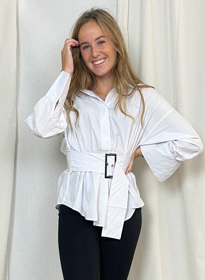 Mila Blouse White